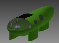 "CAD maquette ""The Umicore Eco-car 2013"""