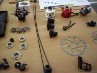 Verdere onderdelen van de Speedhub 500/14